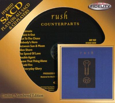 Rush - Counterparts (2013) SACD-R