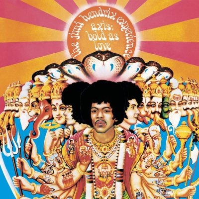 The Jimi Hendrix Experience - Axis: Bold As Love (2018) SACD-R