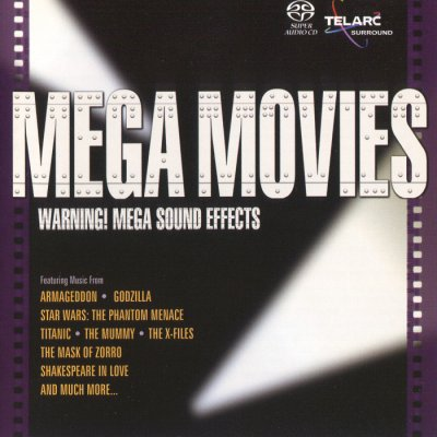 Erich Kunzel & The Cincinnati Pops Orchestra - Mega Movies (2006) SACD-R