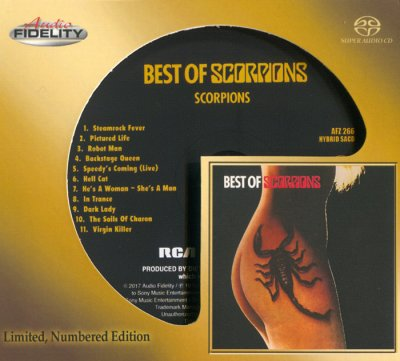 Scorpions - Best of Scorpions (Limited Edition) (2017) SACD-R