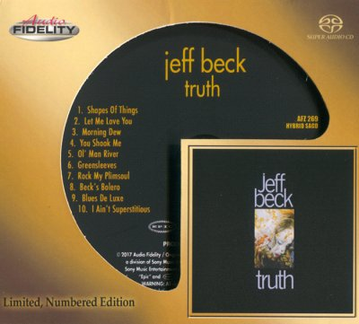 Jeff Beck - Truth (2017) SACD-R