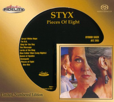Styx - Pieces Of Eight (2017) SACD-R