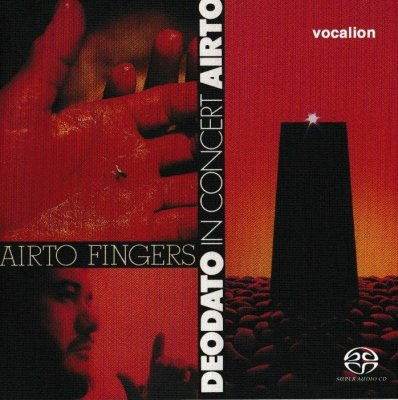 Airto & Deodato - Fingers & In Concert (2018) SACD-R